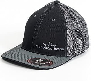 Dynamic Discs Two-Tone King D's Logo Flexfit Mesh Disc Golf Hat