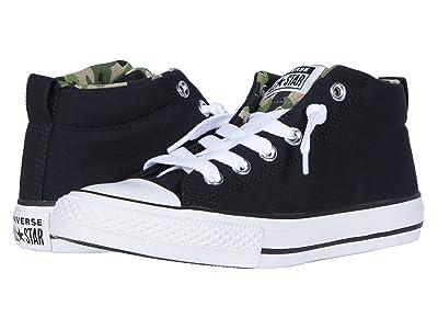 Converse Kids Chuck Taylor(r) All Star(r) Street Camo (Little Kid/Big Kid) (Black/Khaki/White) Boy