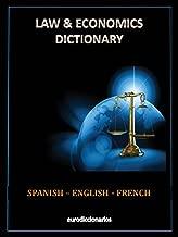 DICTIONNAIRE DE DROIT ET ECONOMIE ESPAGNOL ANGLAIS FRANÇAIS (Spanish Edition)
