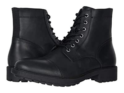 FRYE AND CO. Cody Lace-Up (Black Vintage Pull Up Leather) Men