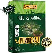 Luxura Sciences Natural Bhringraj Powder for hair growth and conditioning 200 Grams (Eclipta Alba)