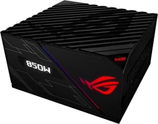 ASUS ROG Thor 850W Platinum Power Supply Unit stands out with Aura Sync and an OLED display, Black
