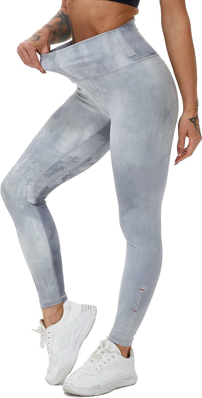 Joy2fitt Women Yoga Max 70% OFF Pants High Non Waist See-Throu Tummy Kansas City Mall Control