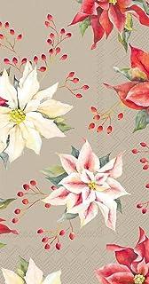 Ideal Home Range 16-Count Isabelle Linen Paper Guest Towel Napkins