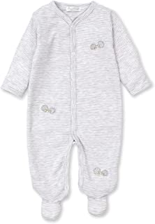 Kissy Kissy Unisex-Baby Infant Hedgehog Haven Stripe Footie