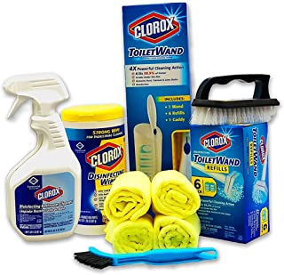 Clorox Products Bathroom Cleaning Kit 7 Piece Set