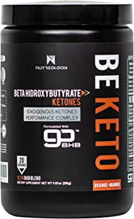 Be Keto (GoBHB Exogenous Ketones) - Orange Mango. Weight Management Supplement for Ketosis. Paleo and Keto Friendly. Gluten Free. Boost Performance and Energy Level. 20 Servings (280 g).