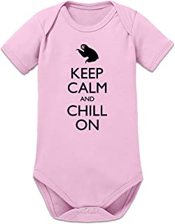 Shirtcity Keep Calm and Chill on Baby Strampler by