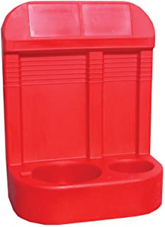 IVG Fire Extinguisher Stand Double Glass-reinforced Plastic W620xD300xH750mm Ref IVGSFSD
