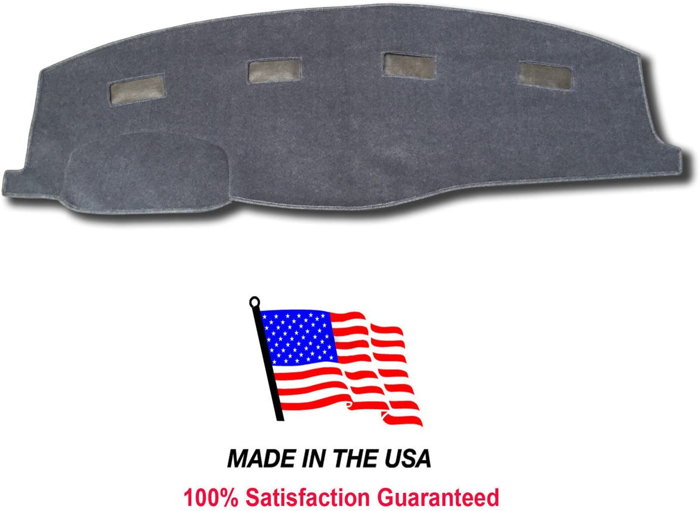 06-08 Gray AKMOTOR Dashboard Cover Dash Cover Mat Custom Fit for Dodge Ram 1500//2500//3500 2006-2008,2500//3500 2009 Without Dash Speakers KJ16