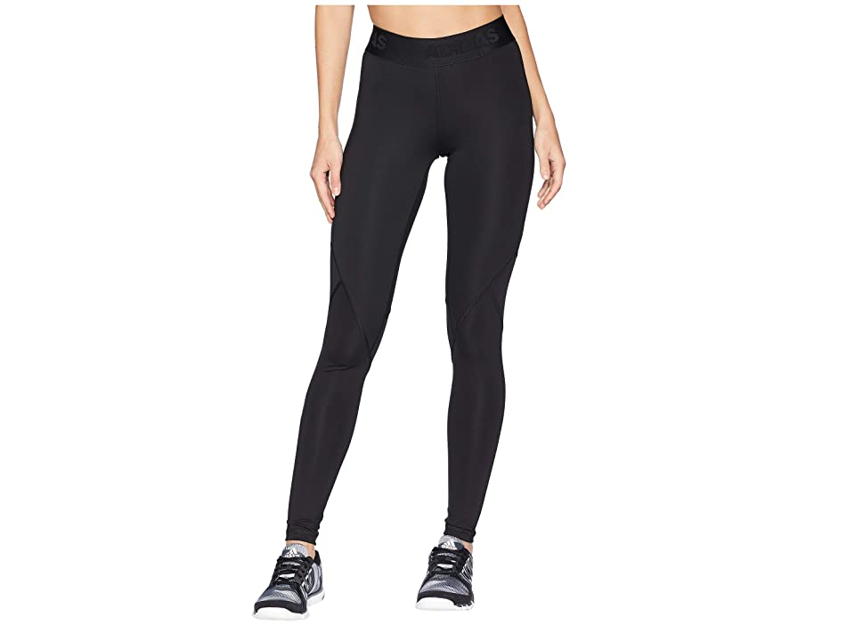 adidas Alphaskin Sport Long Tights (Black) Women
