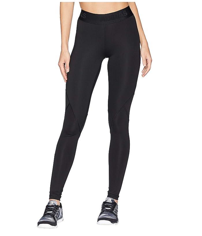 adidas Alphaskin Sport Long Tights (Black) Women