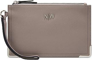 حقيبة معصم للنساء من ناين ويست - رمادي