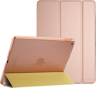 ProCase iPad 9.7 Case 2018 iPad 6th Generation Case / 2017 iPad 5th Generation Case - Ultra Slim Lightweight Stand Case with Translucent Frosted Back Smart Cover for Apple iPad 9.7 Inch ?Rose Gold