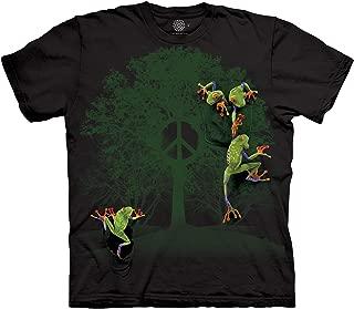 Peace Tree Frog T Shirt - Men's Short Sleeve