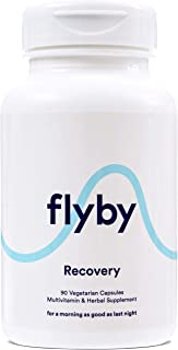 Sponsored Ad - Flyby Recovery Pills for Rapid Hydration Aid (90 Capsules) - Manufactured in USA - Electrolytes, Dihydromyr...