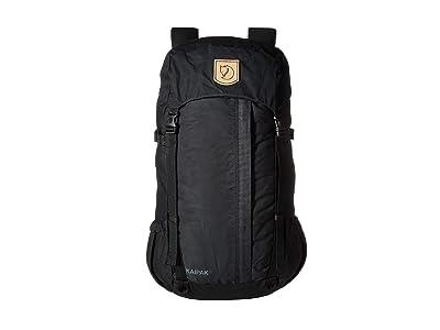 Fjallraven Kaipak 28 (Black) Backpack Bags