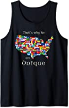 USA, Unique Country,That's Why We are Unique, Gift Tank Top
