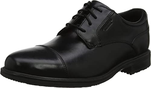 HUWSO  Rockport Essential Detail II Cap Toe, Richelieus Homme