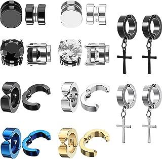 Piercing Earrings and Backs Chain and V Shape Dangle Earrings Beydodo Womens Surgical Steel Earring Dangle