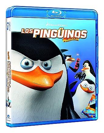 Amazon Com Penguins Of Madagascar Los Pingüinos De Madagascar La Película Non Usa Format Cine Y Tv