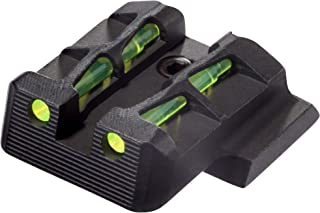 HIVIZ MPLW11 Interchangeable LITEWAVE Rear Handgun Sight for Smith & Wesson/M&P Full-Size/Compact (Except M&P 22)