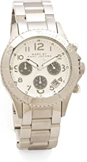 Marc by Marc Jacobs Women's Rock Chronograph Watch, Silver, One Size