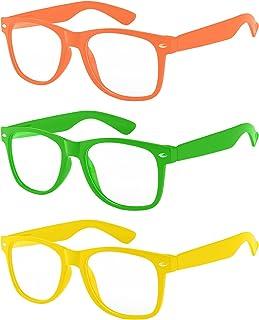 شیشه های لنز پاک 3 جفت کودکان از چشمان کودک در برابر UVB UVA محافظت می کنند