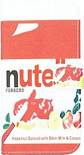 JUJEO Nutella Hazelnut Spread Pattern Magnetic Flip Leather Stand for HTC One M8 - التعبئة والتغليف غير التجزئة - متعدد ال...