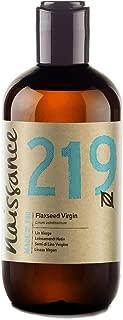 Naissance Aceite Vegetal de Linaza 250ml - 100% puro, virgen