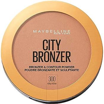 Maybelline New York Terra City Bronze, con Burro di Cacao e Pigmenti Soffici, Effetto Pelle Baciata dal Sole, per un Look Naturale, 300 Deep Cool