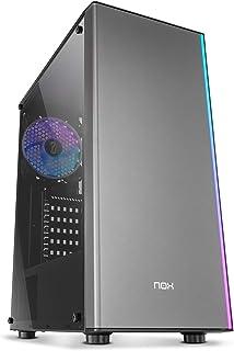 Nox Infinity Omega - NXINFTYOMEGA - Caja PC, ARGB, Color Negro