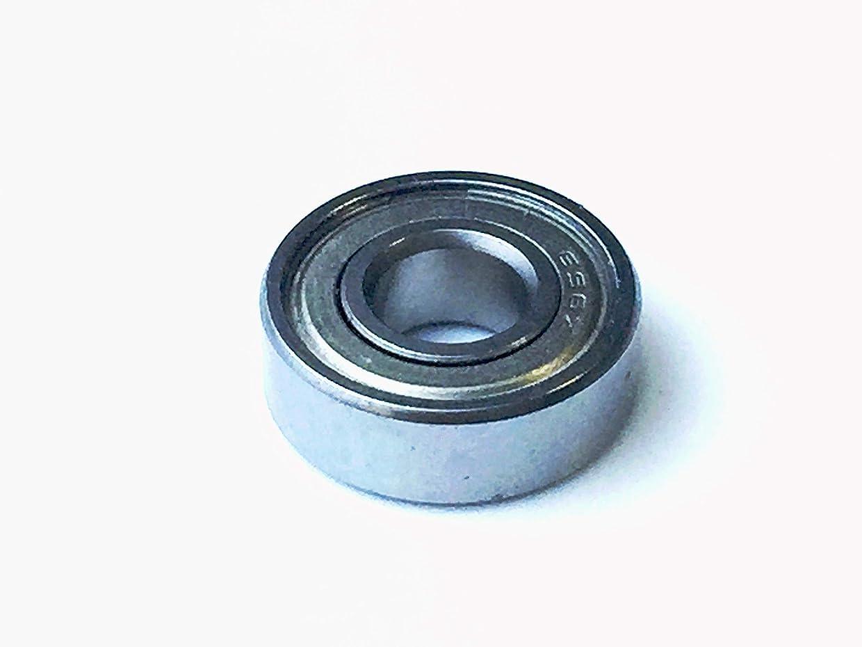 一緒パプアニューギニア俳句1560 サイズ メタルシール ボール ベアリング 1個 1560ZZ (外径15.0mm, 内径6.0mm, 幅5.0mm)