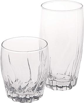 16-Count Anchor Hocking Central Park Glassware Set