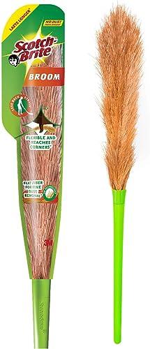 Scotch-Brite No-Dust Fiber Broom (Multi-Purpose, Green) product image