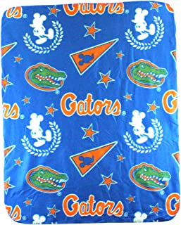 The Northwest Company NCAA Florida Gators Mickey Mouse Character Fleece Throw, 40 x 50-inches