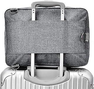 RomWell Travel Duffel Bag Waterproof Fashion Lightweight Large Capacity Portable Luggage Bag (Greyish black)
