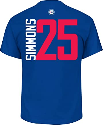 Ben Simmons Philadelphia 76ers #25 NBA Men's Vertical Player T-Shirt