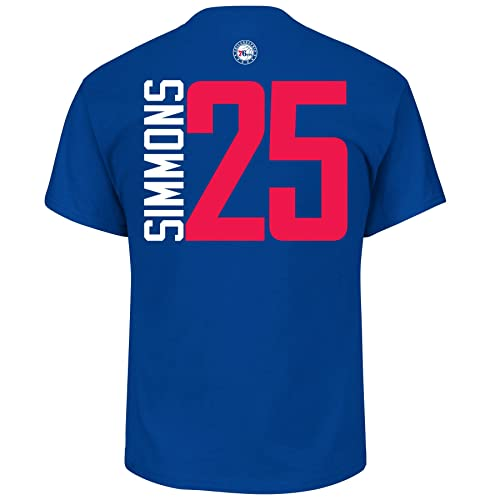 84cf1ce754f Ben Simmons Philadelphia 76ers #25 NBA Men's Vertical Player T-shirt