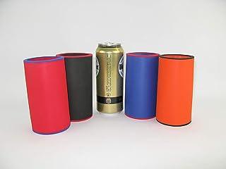 2x 3mm Neopren Dosenkühler Bierkühler für unterwegs Garten Grillparty,