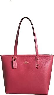 Crossgrain Leather City Zip Tote Purse Bag Handbag