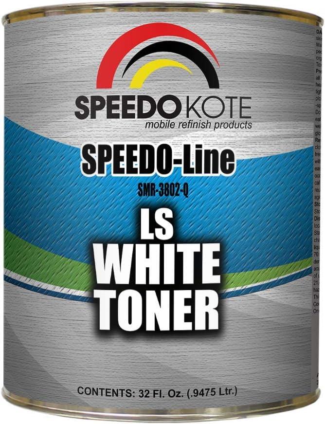 Japan Maker Soldering New Speedokote Low Strength White SMR-3802-Q Toner Quart