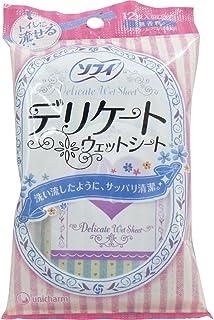 【まとめ買い】ソフィ デリケートウェット 6枚×2P(unicharm Sofy)【×4袋】
