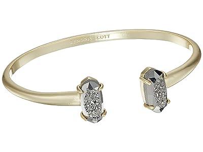 Kendra Scott Edie Bracelet (Gold/Platinum Window Drusy) Bracelet