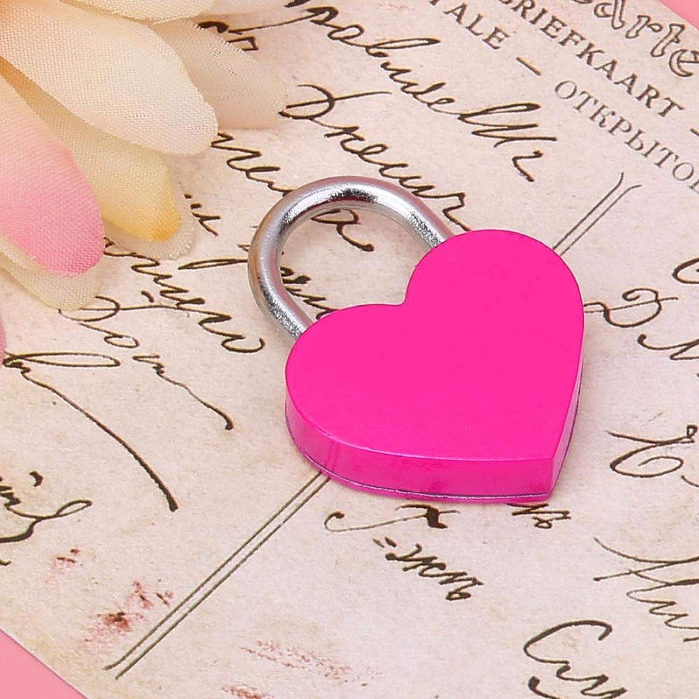 HuangJUN 2 Pcs Heart Shape Sale SALE% Al sold out. OFF Suitcase with Lugga Locks Small Keys