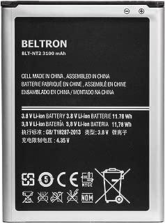 New 3100 mAh BELTRON Replacement Battery for Galaxy Note 2 (I317 I605 L900 R950 T889) - EB595675LA EB595675LU
