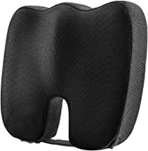 Dreamer Car Seat Cushion for Car - Premium Memory Foam Tailbone Pain Relief Cushion Never Get Harden - Non-Slip Rubber Bot...