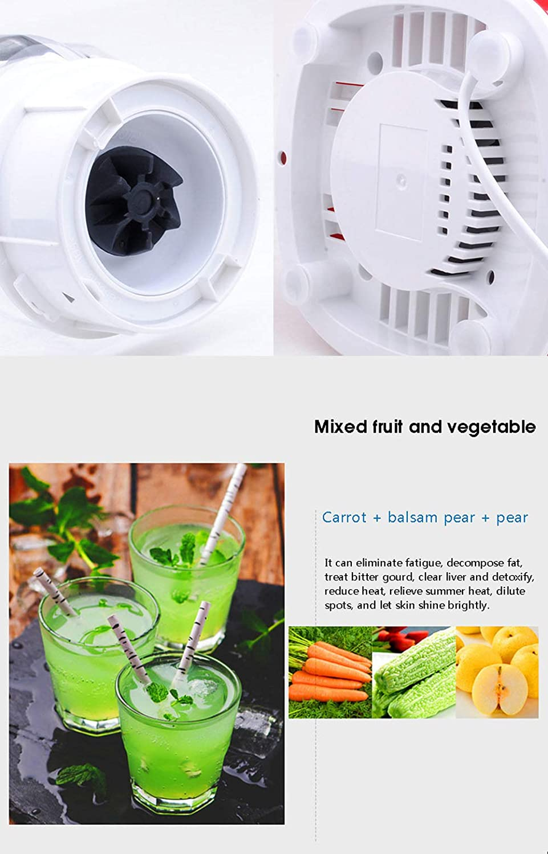Juicer,Presse-agrumes en acier inoxydable Ménage Presse-agrumes Petit mélangeur Mini Presse-agrumes Cuisine,red Rouge