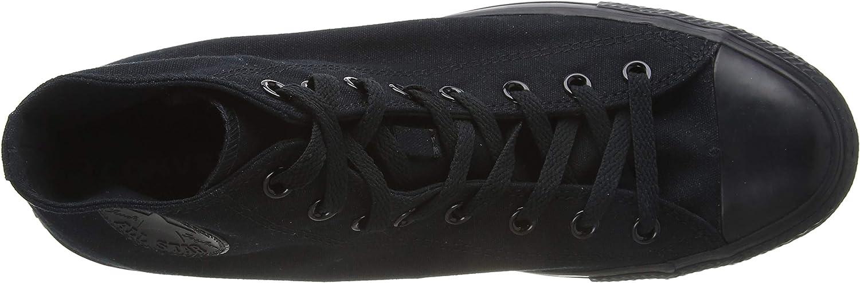 Converse Ctas Core Hi, Baskets mode mixte adulte Noir (Noir Mono)