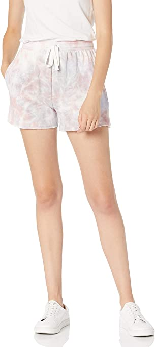 Marchio Amazon - Michaela, Pantaloncini in Pile, con Tasche Laterali Donna di The Drop